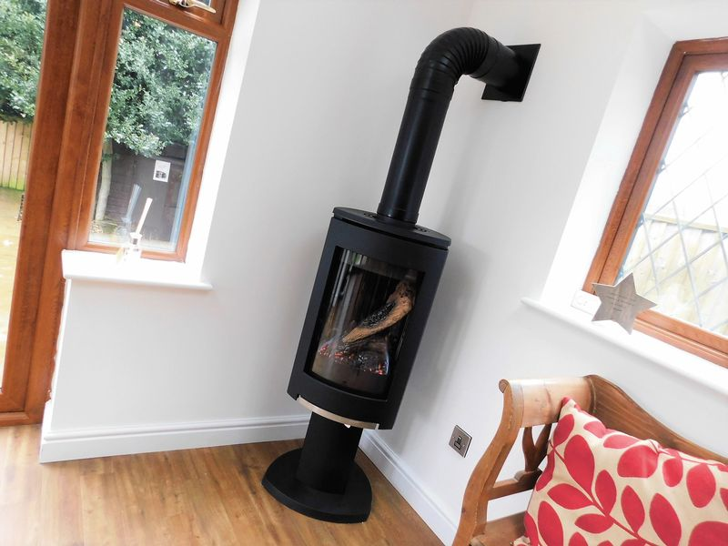 Contemporary Gas Fired Stove