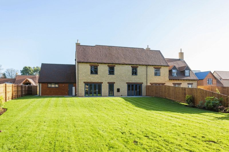 Rear of Property - Show Home
