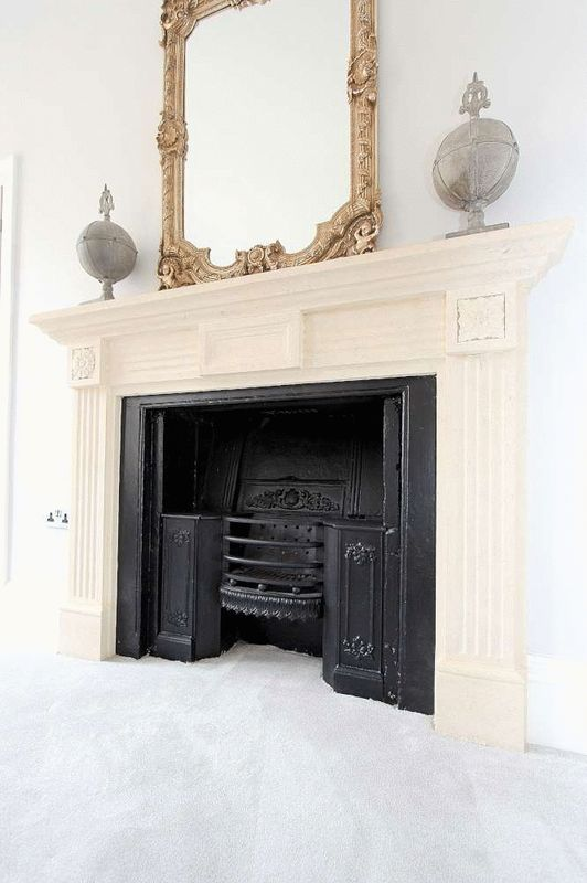 Bedoom fireplace