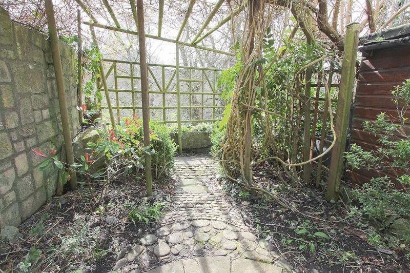 Rear portion of garden