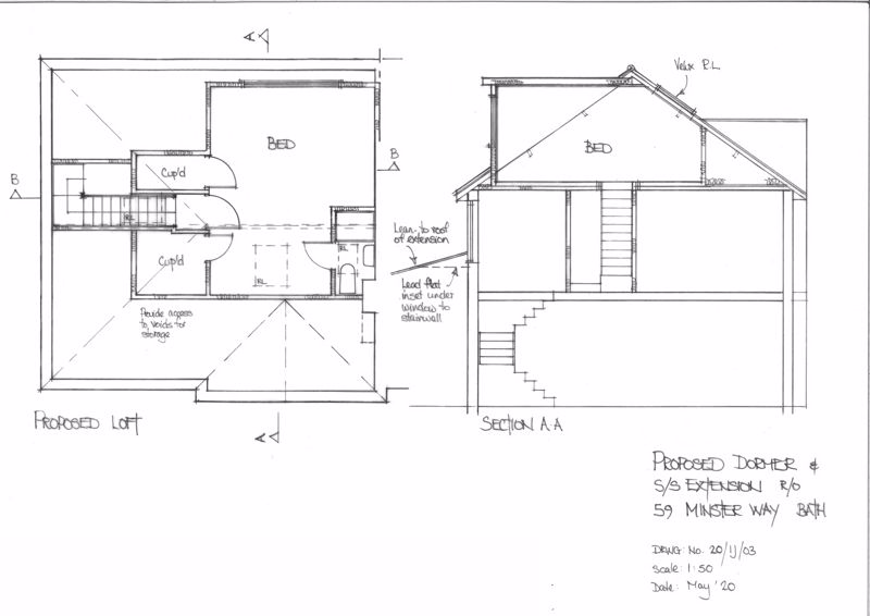 Proposed loft conversion