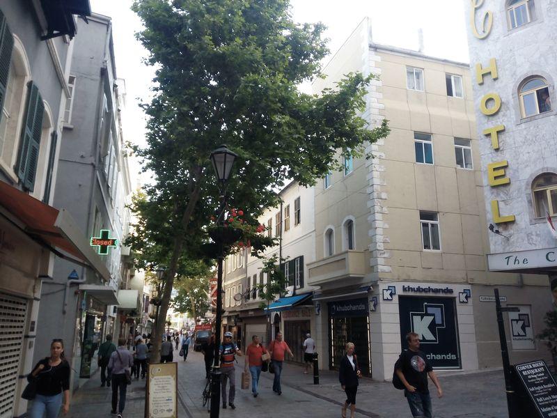 Main Street Town Area