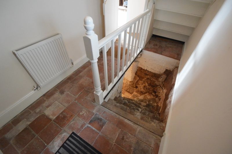 Stairs down to Cellar
