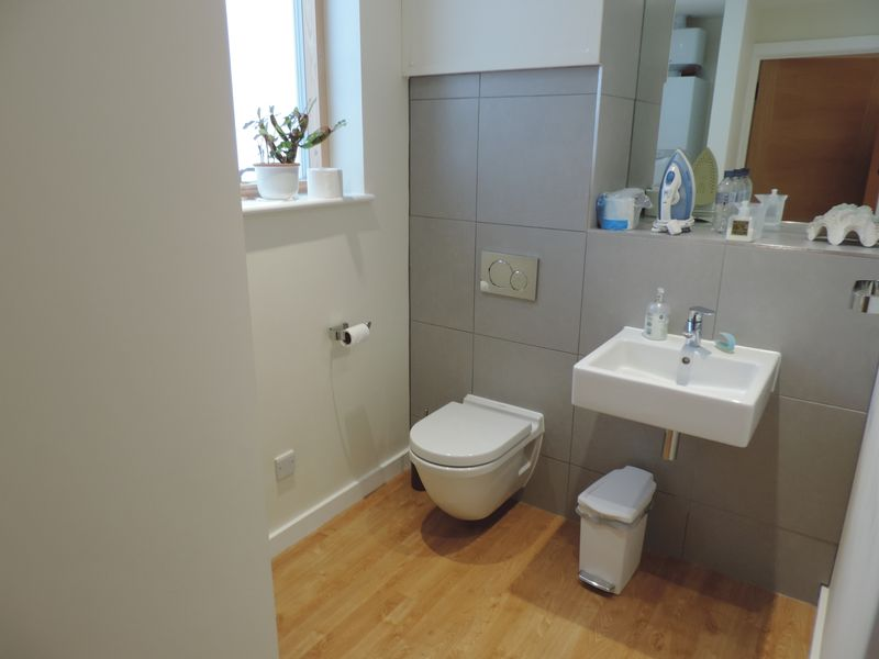 Utility Room with WC