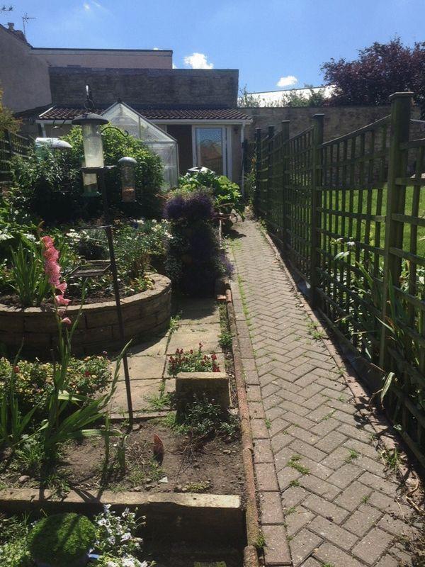 Rear Garden & Office/Workshop