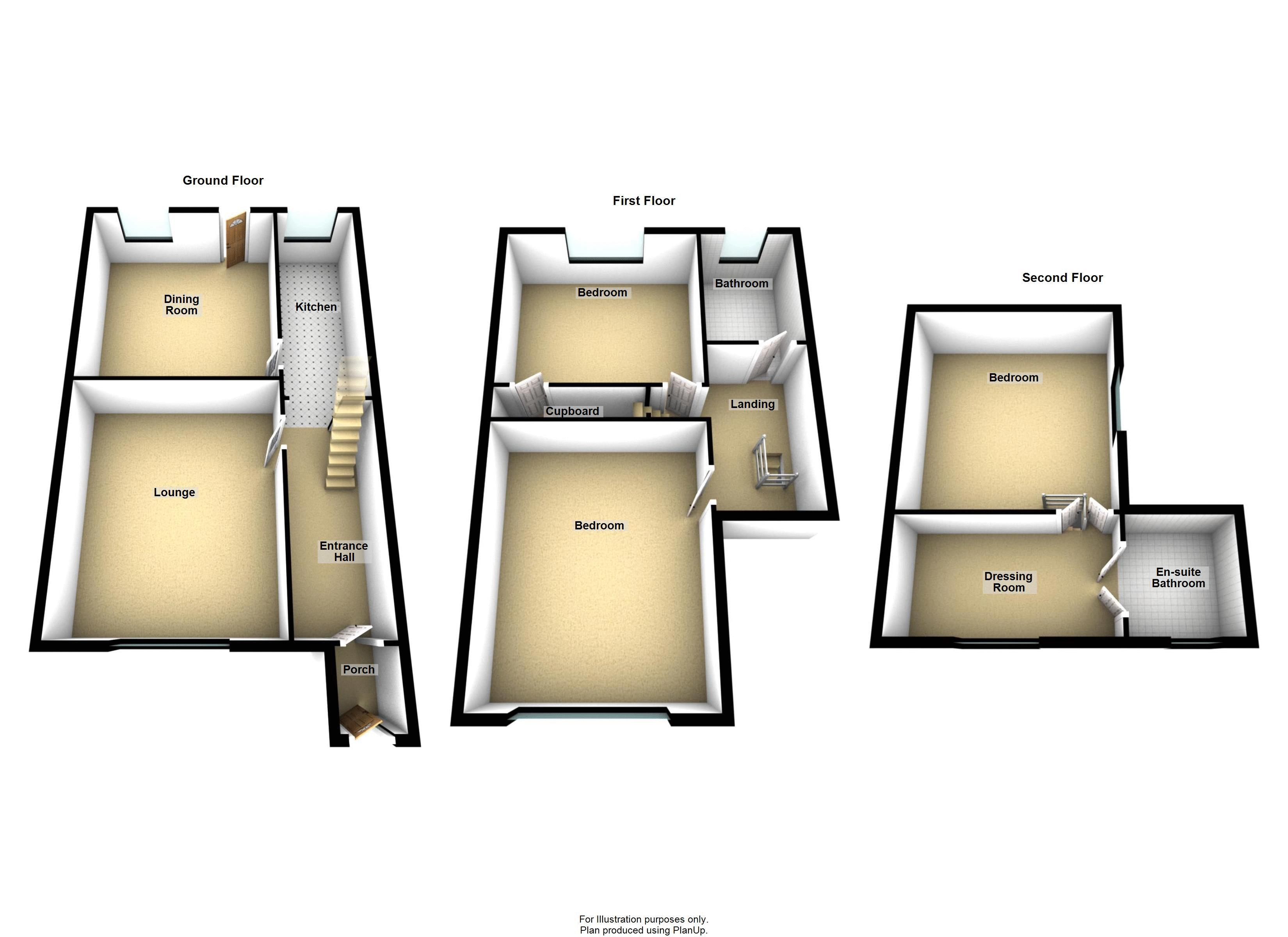 42A Smiddles Lane Floorplan