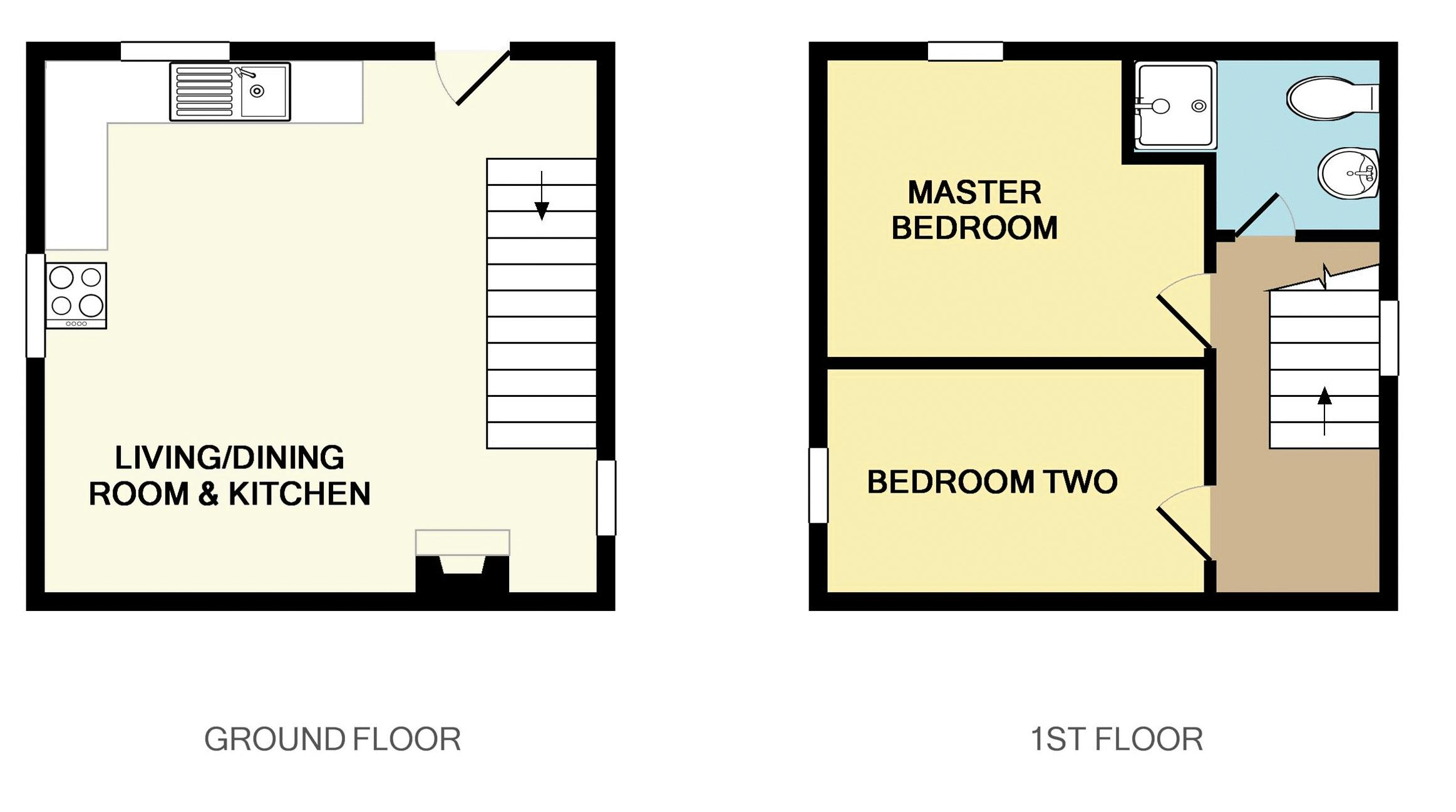 Floorplan Holiday Cottage