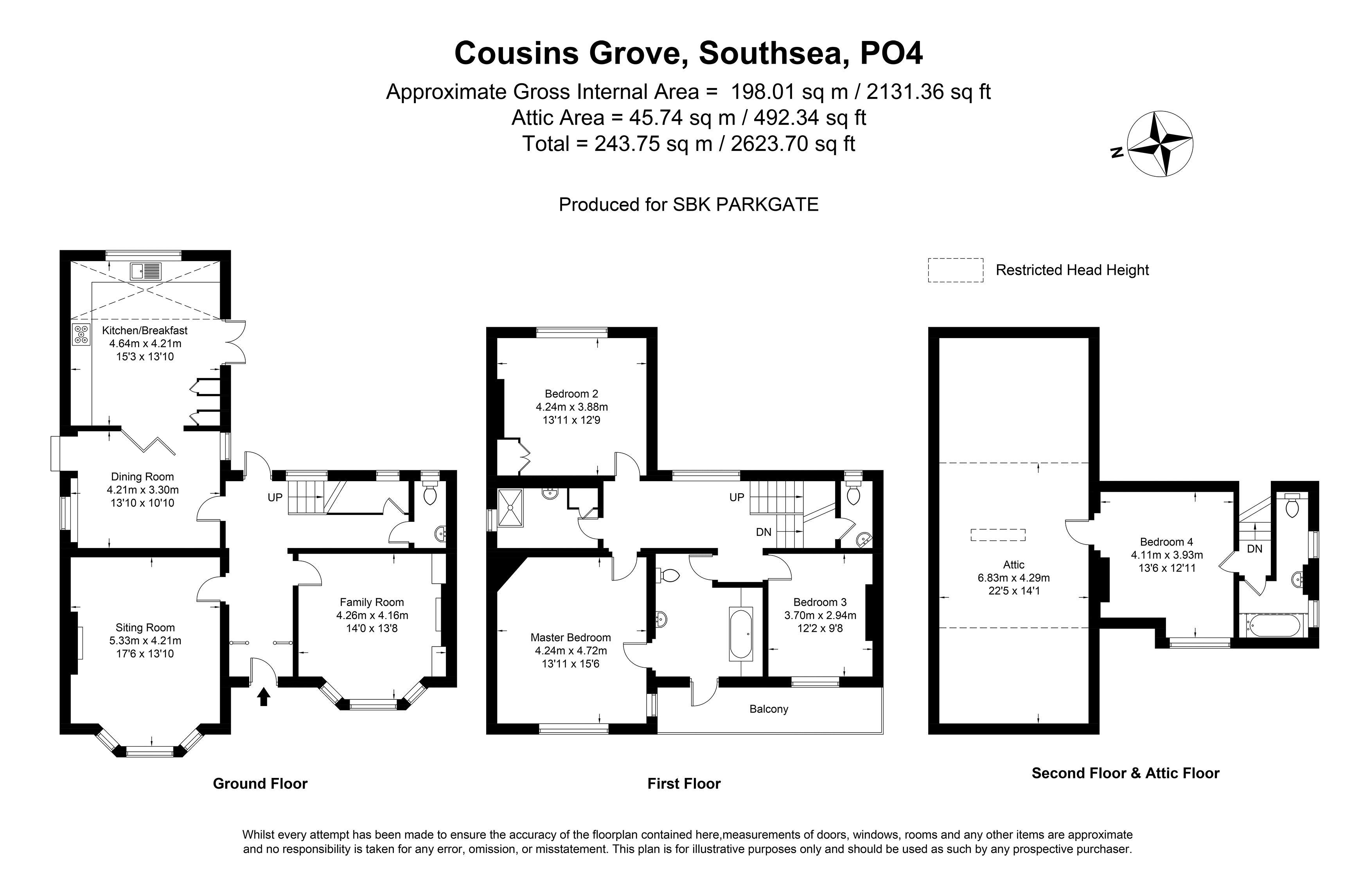 Cousins Grove Southsea