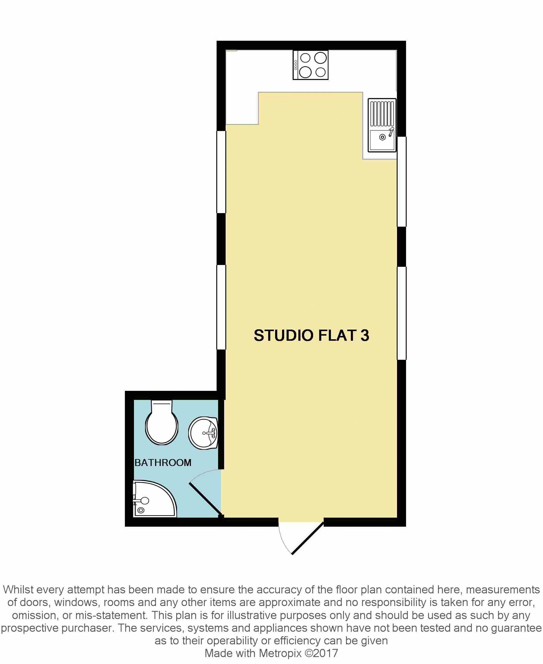 136-137 High Street Flat 3