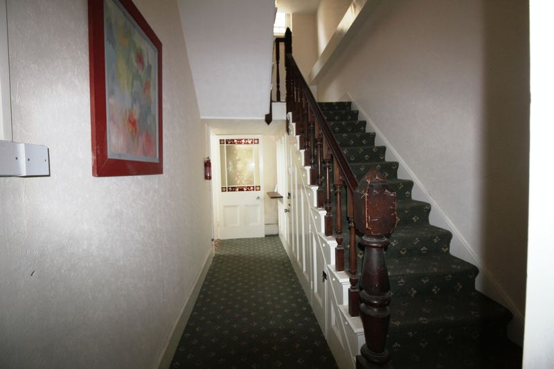 Main staircase to flats