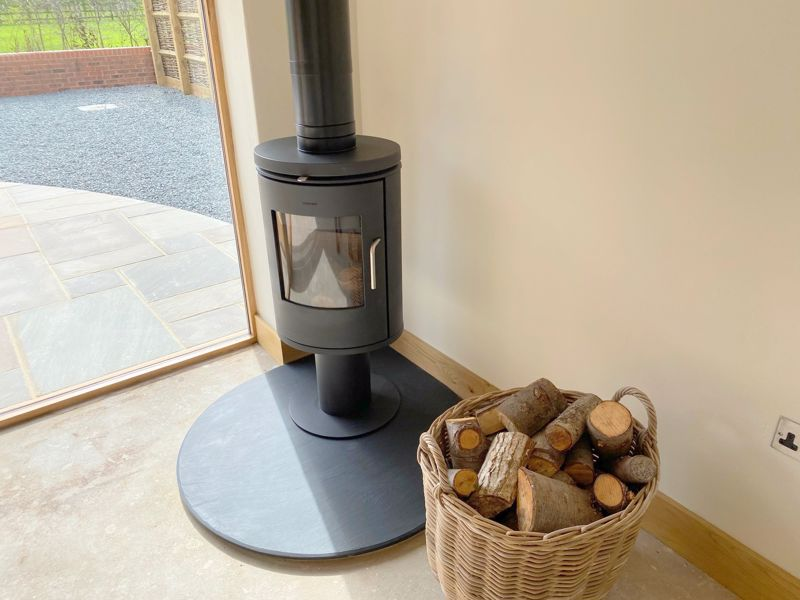 Fitted Log Burner