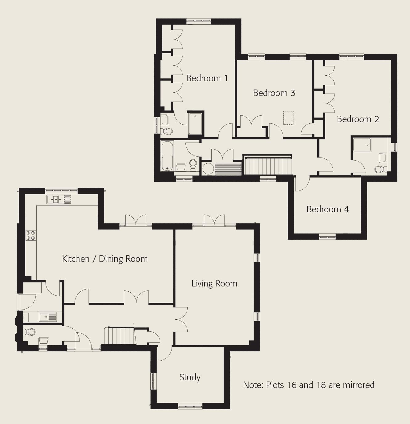 Milton floorplan