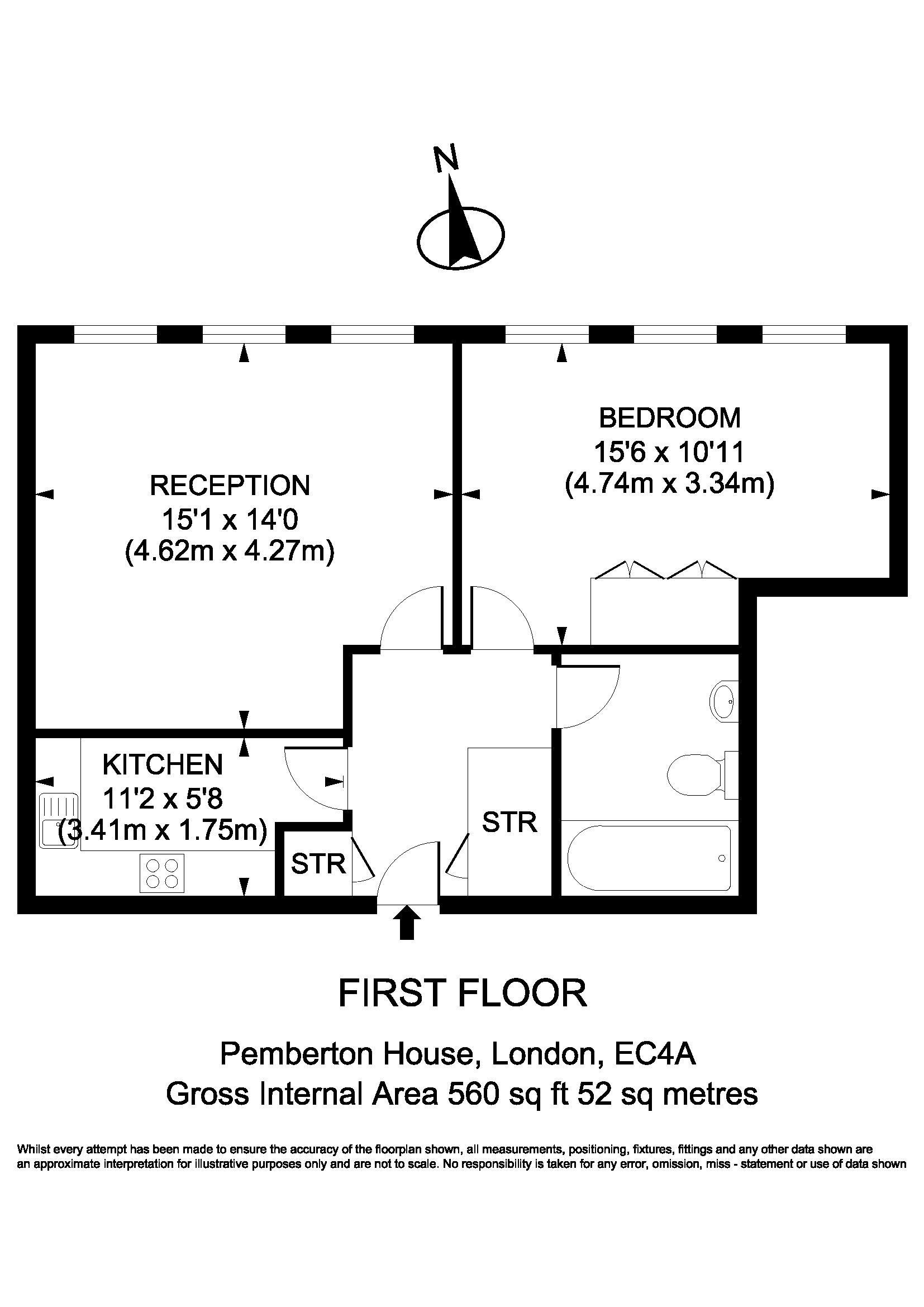Flat 8 Pemberton House