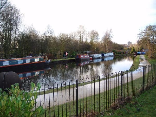 Canal side view