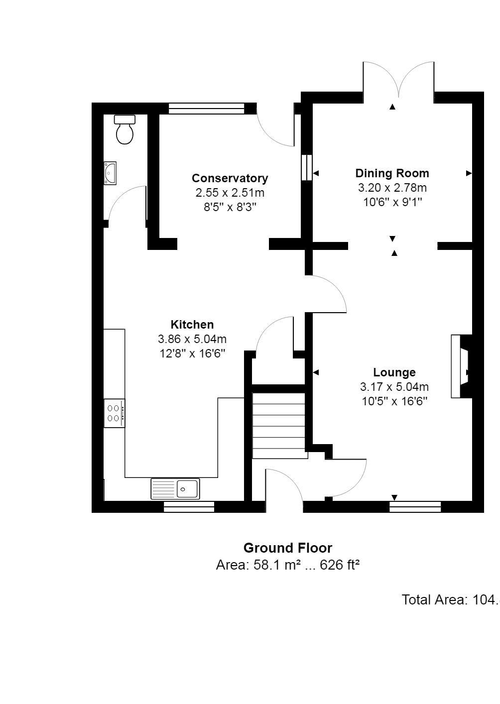 35 Rutland Rd Ground Floor