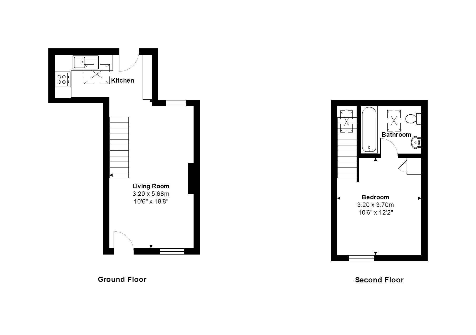 Vine Street Floorplan