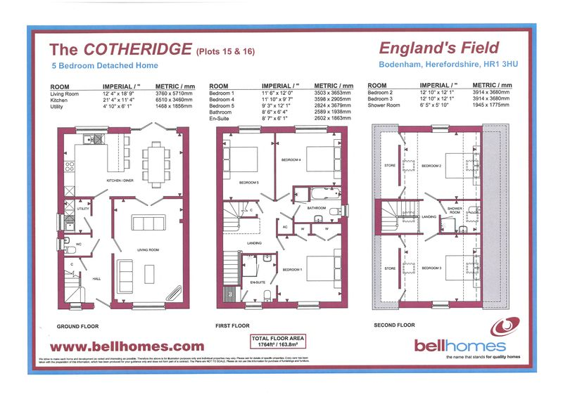 Plot 16 - The Cotheridge,  England 's Field Bodenham