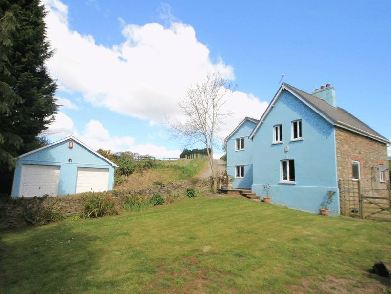 4 Bedrooms Property for sale in near Trerulefoot, Liskeard