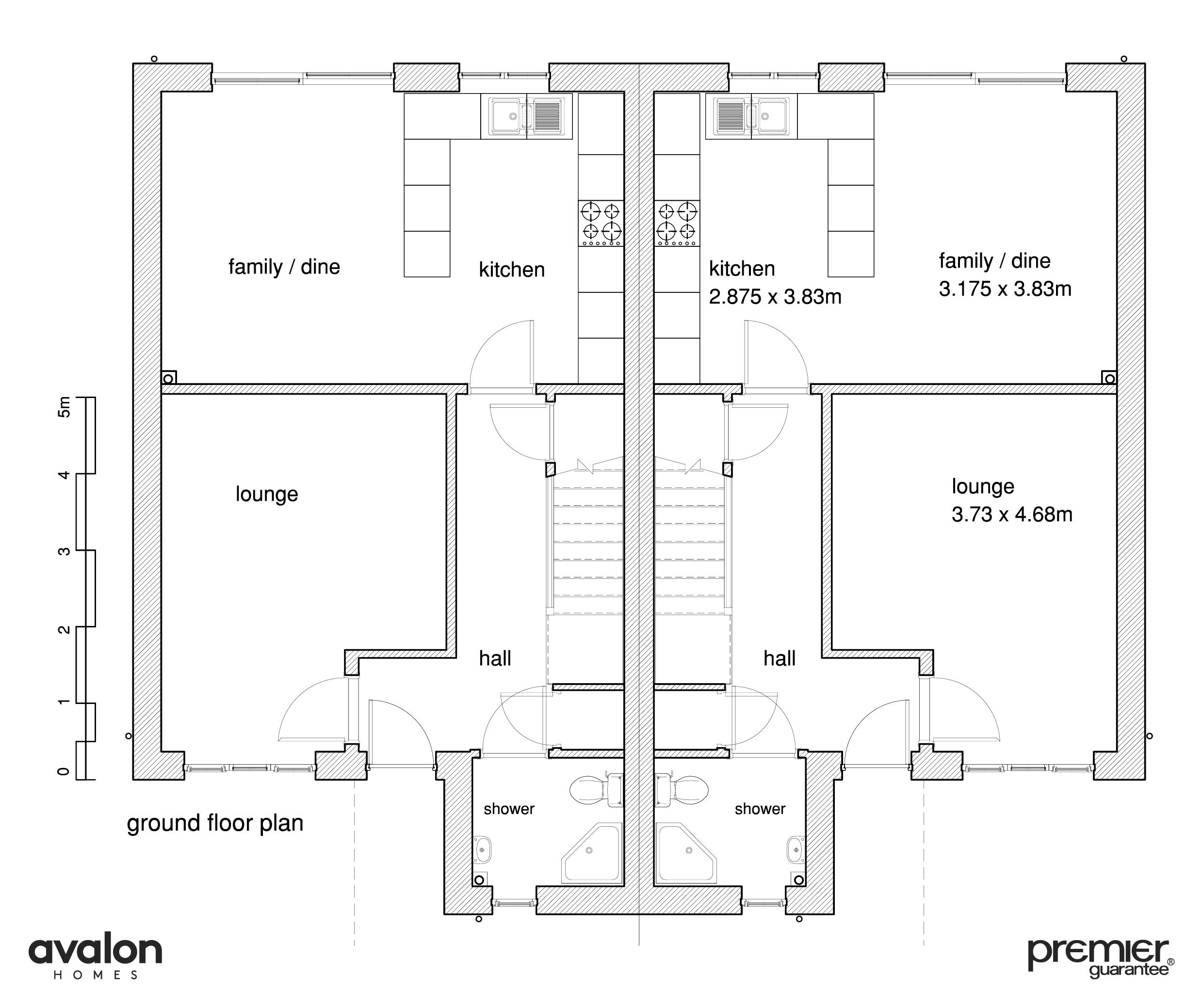Floor plan ground