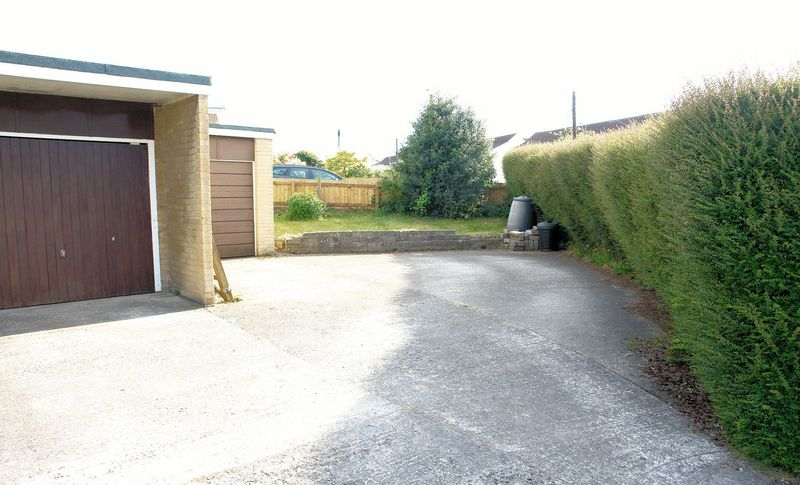 Drive and side garden