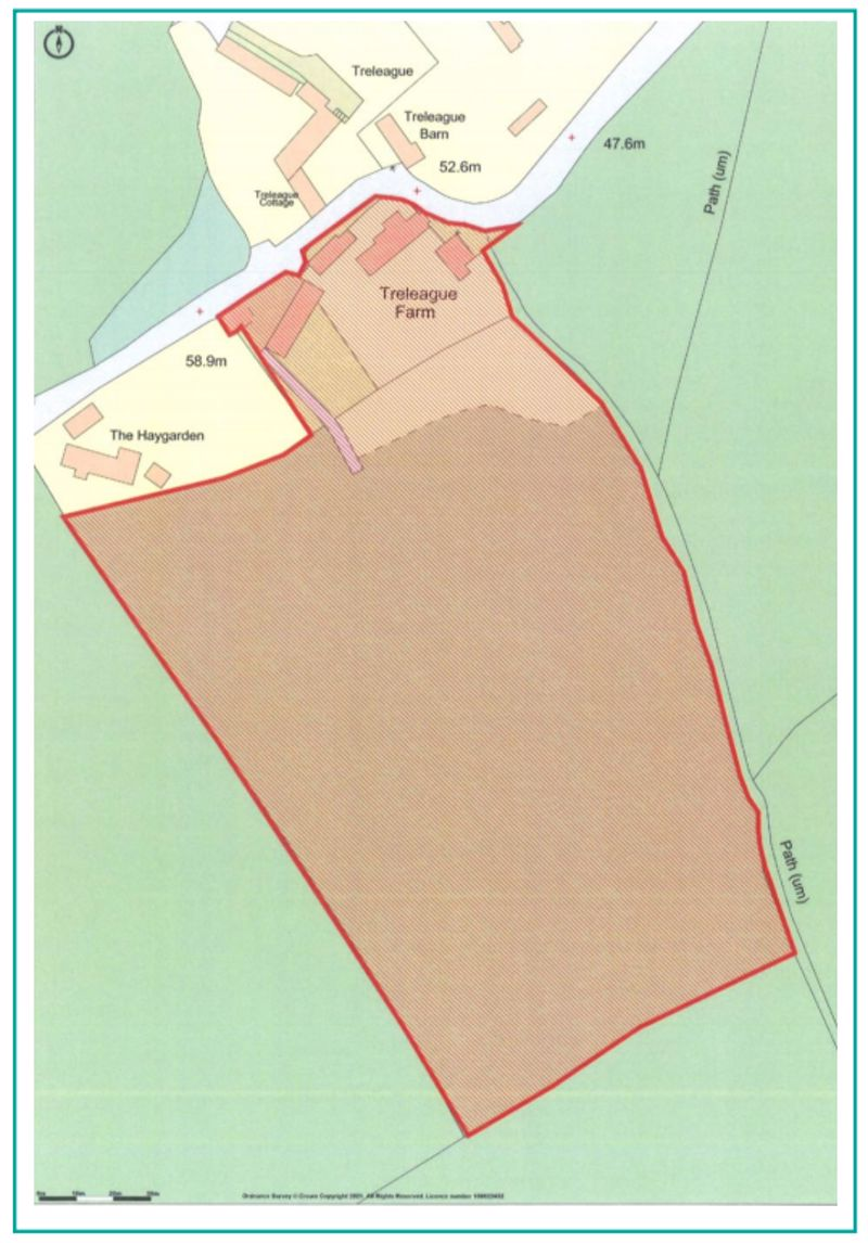 Location plan denoting Lots 1 & 2