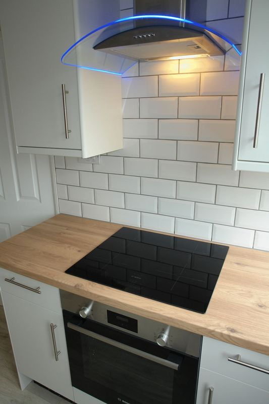 Built in oven hob and hood