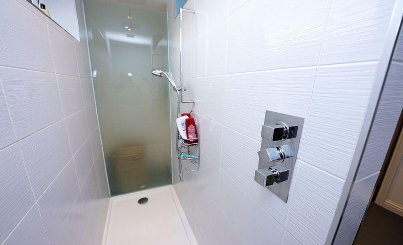 Concealed shower