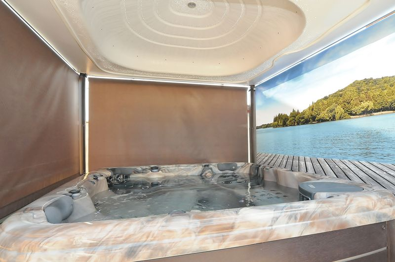 Hot Tub - Available by Separate Negotiation.