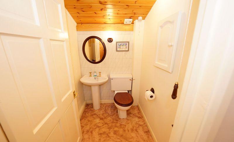 Cloakroom or ensuite