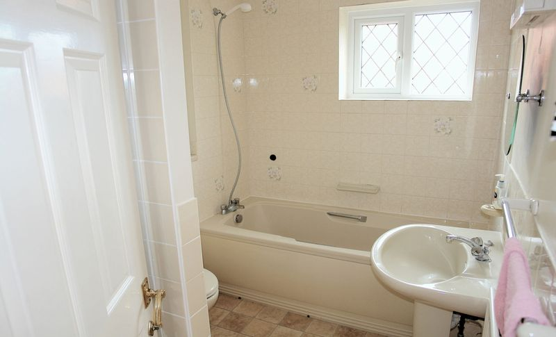 Bath and shower - see plan