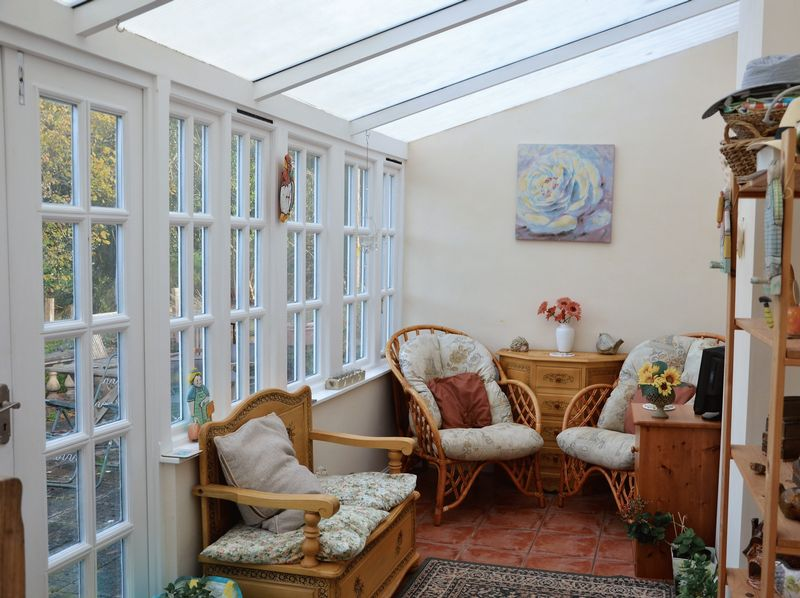 Main house conservatory