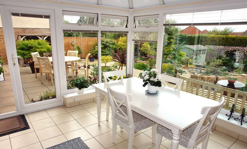 Superb conservatory