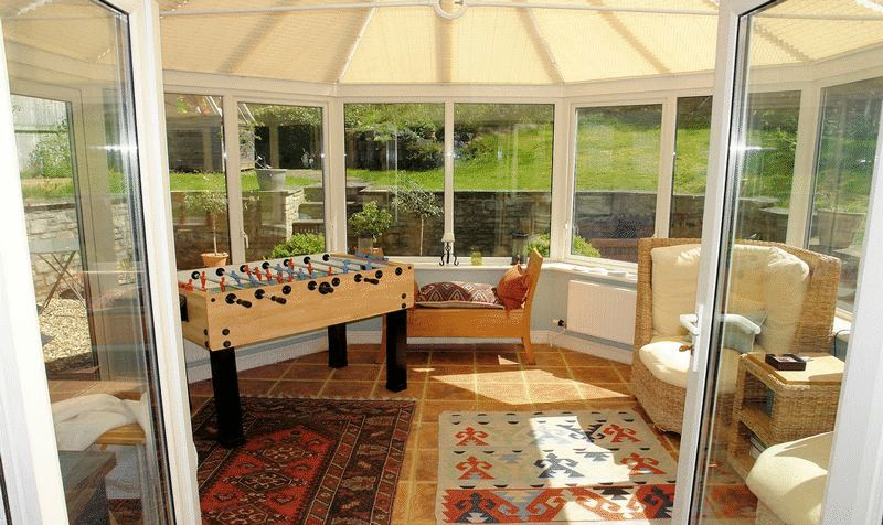 Superb conservatory