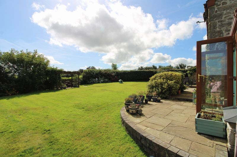 Sun terrace and garden