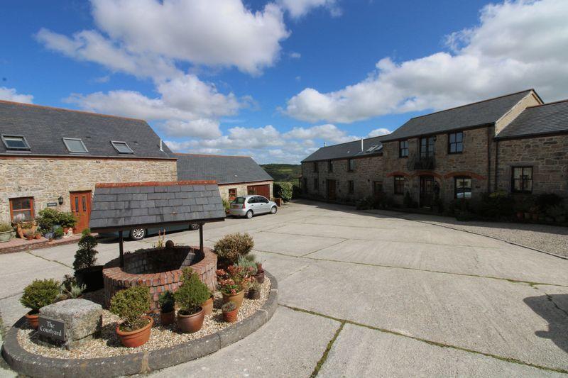 Barn courtyard setting