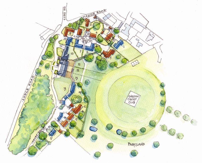 Kingsdon Manor Site Plan