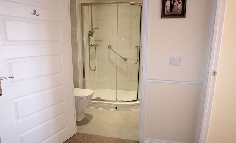 Bathroom from hall