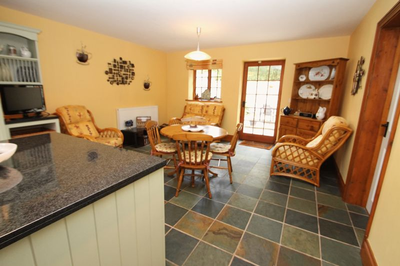 Living/dining area of kitchen