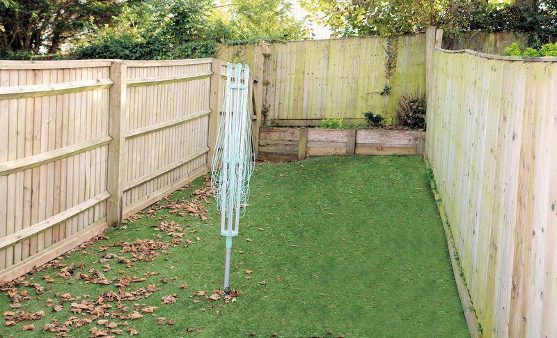 'Astroturf' lawn
