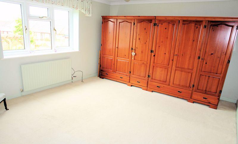 Generous principal bedroom