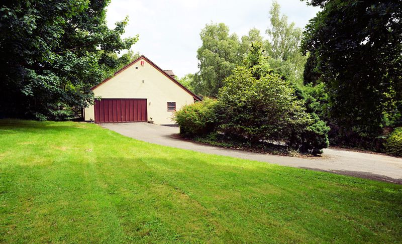 Garage and stable block