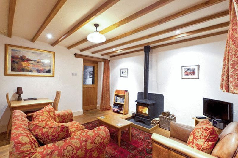 Widecombe Cottage Sitting room
