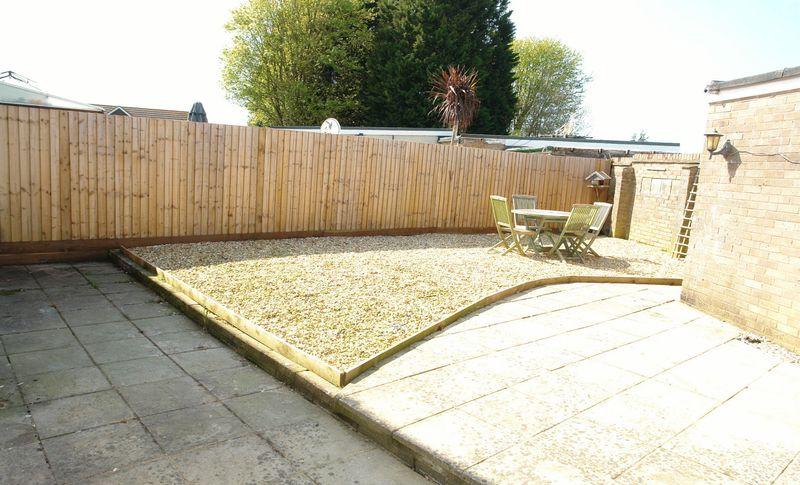 Generous private garden