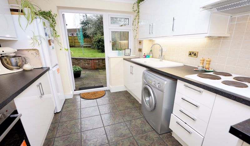 Recent fitted kitchen