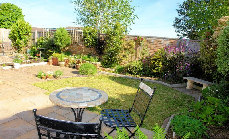 Patios and lawn