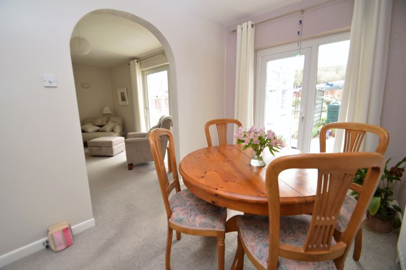 Dining area with arch to Sitting Room
