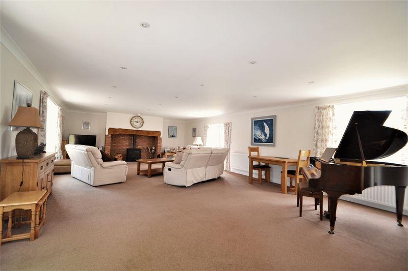 Lounge of main property