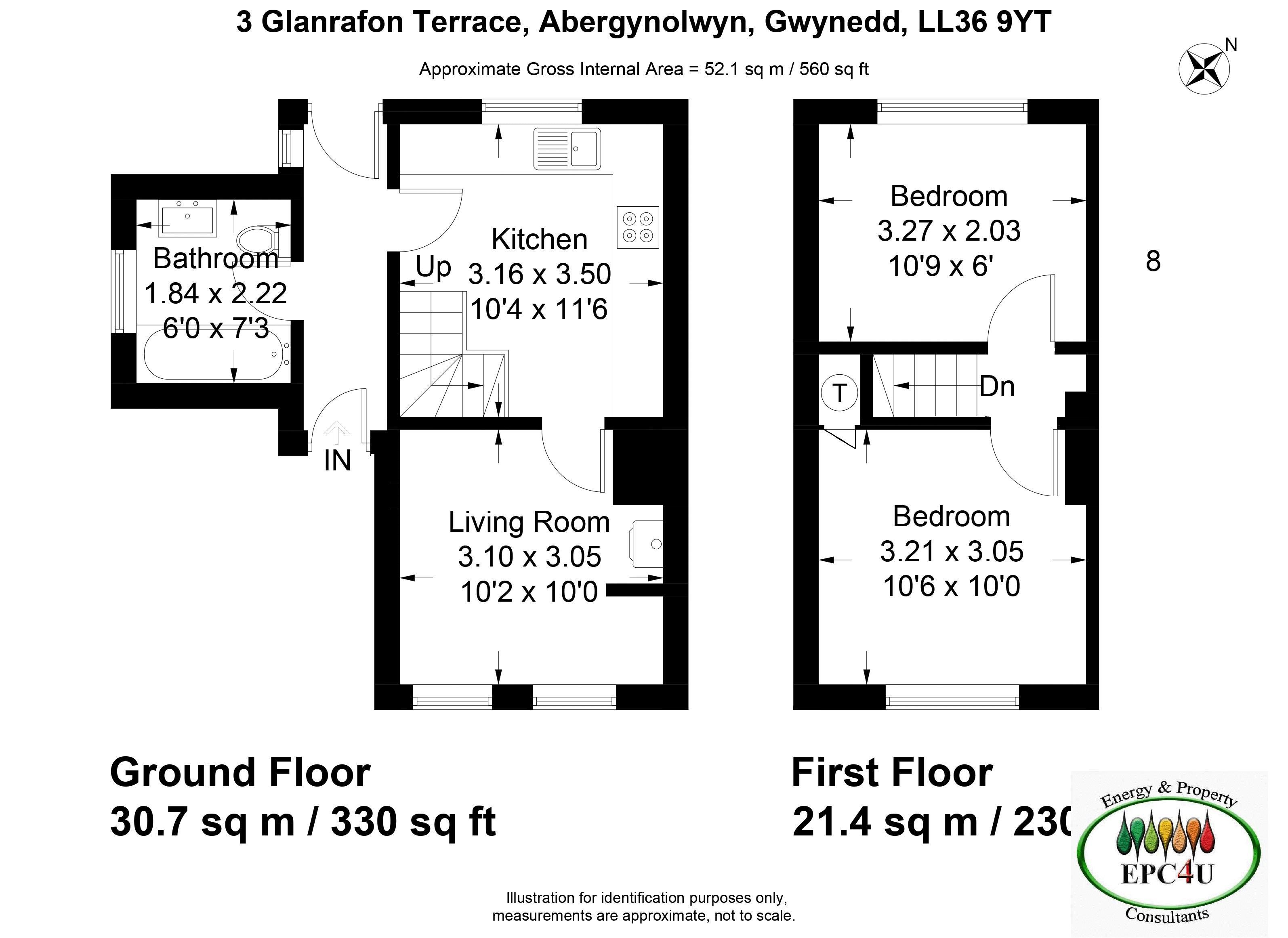 Glanrafon Terrace Abergynolwyn
