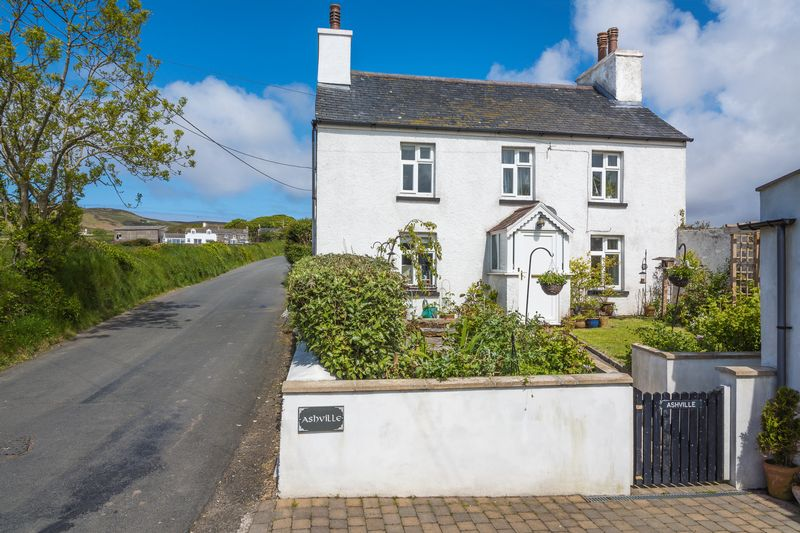 Ashville, Manx Cottage With Annexe, Ballakilpheric