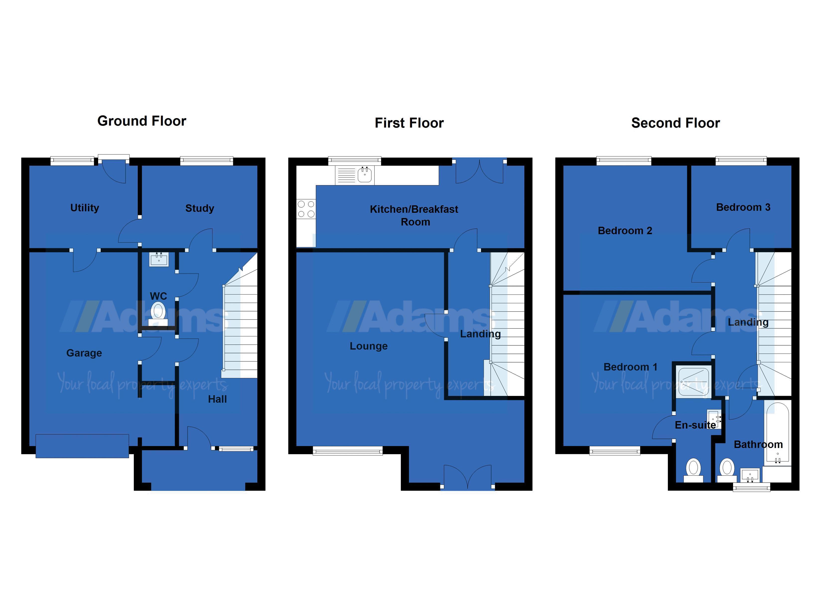 Hampton court way widnes adams estate agents cheshire for 11 brunel crt floor plan